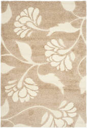 Safavieh Florida Shag Sg459-1311 Beige / Cream Area Rug