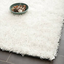 Safavieh Paris Shag Sg531-1111 Off White Area Rug