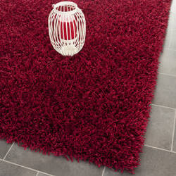 Safavieh Shag Sg851r Red Area Rug