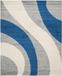 Safavieh Shag Sg914-8065 Grey / Blue Area Rug