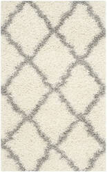 Safavieh Dallas Shag Sgd257f Ivory - Grey Area Rug