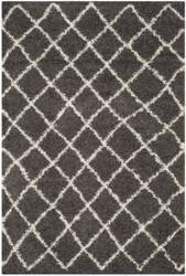 Safavieh Dallas Shag Sgd258a Dark Grey - Ivory Area Rug
