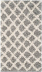 Safavieh Dallas Shag Sgd258g Grey - Ivory Area Rug