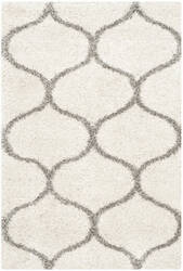 Safavieh Hudson Shag Sgh280a Ivory - Grey Area Rug