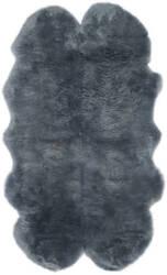 Safavieh Sheepskin Shag Shs121b Steel Blue Area Rug