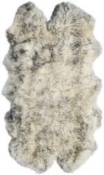 Safavieh Sheepskin Shag Shs121e Ivory - Smoke Grey Area Rug
