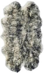 Safavieh Sheepskin Shag Shs121g Ivory - Dark Charcoal Area Rug