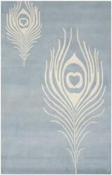 Safavieh Soho Soh704b Light Blue / Ivory Area Rug