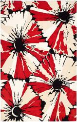 Safavieh Soho Soh729a Black / Red Area Rug