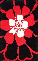 Safavieh Soho SOH730C Black - Red Area Rug