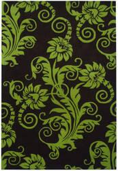Safavieh Soho Soh765d Brown / Green Area Rug