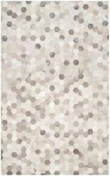 Safavieh Studio Leather Stl217a Ivory - Grey Area Rug