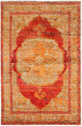 Safavieh Tangier Tgr603a Red Orange - Beige Area Rug