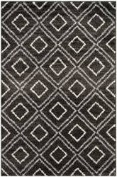 Safavieh Tunisia Tun293f Anthracite - Cream Area Rug