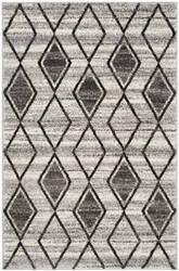 Safavieh Tunisia Tun296k Grey - Black Area Rug