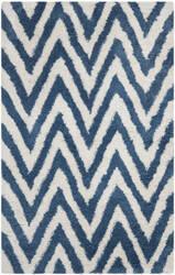 Safavieh Shag SG250A Ivory / Blue Area Rug