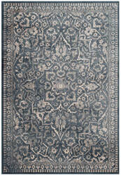Safavieh Vintage Vtg175 Blue - Light Grey Area Rug