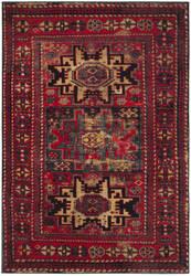 Safavieh Vintage Hamadan Vth213a Red - Multi Area Rug