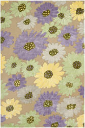 Safavieh Wilton Wil341a Taupe - Lilac Area Rug