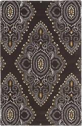 Safavieh Wyndham Wyd372b Brown / Ivory Area Rug