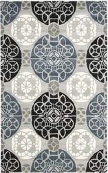 Safavieh Wyndham Wyd376d Grey / Black Area Rug