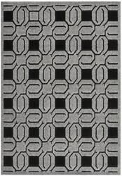 Safavieh York Yrk1670 Grey - Black Area Rug
