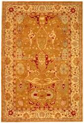 Rugstudio Sample Sale 46244R Straw / Ivory Area Rug