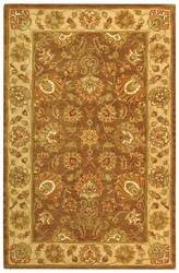Safavieh Heritage HG343K Brown / Ivory Area Rug