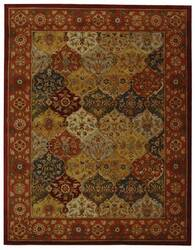 Safavieh Heritage HG510B Multi / Red Area Rug
