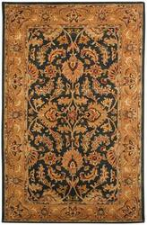 Safavieh Heritage HG628A Dark Green / Gold Area Rug