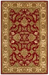 Safavieh Heritage HG628D Red / Ivory Area Rug