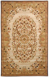 Safavieh Heritage HG640A Beige / Green Area Rug