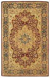 Safavieh Heritage HG760B Red / Black Area Rug