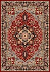 Safavieh Lyndhurst LNH330B Red / Black Area Rug