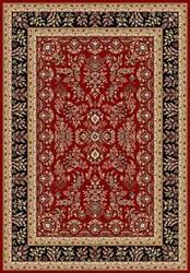 Safavieh Lyndhurst LNH331B Red / Black Area Rug