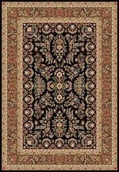 Safavieh Lyndhurst LNH331D Black / Tan Area Rug
