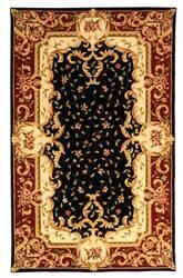 Safavieh Naples NA508B Black / Red Area Rug