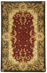 Safavieh Naples NA508C Red / Green Area Rug