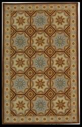 Safavieh Naples NA513A Ivory / Brown Area Rug