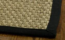 Safavieh Natural Fiber NF114C Natural / Black Area Rug