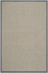 Safavieh Natural Fiber NF444A Grey Brown / Grey Area Rug