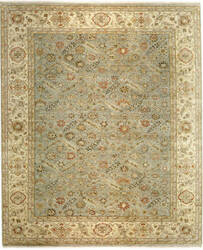 Samad Sovereign Empress Seafoam/Light Gold Area Rug