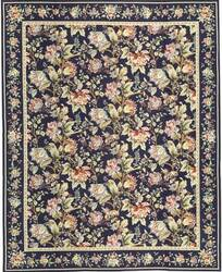 Samad Highland Needleworks Lamont Blue Area Rug