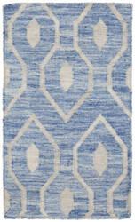 Shalom Brothers Durham Kilim Dk-7 Blue Area Rug