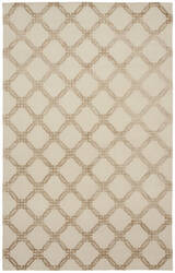 Shalom Brothers Broadway B-293 Ivory-Beige Silk Area Rug