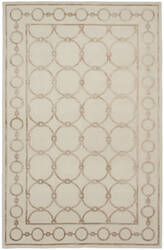 Shalom Brothers Broadway B-4a Ivory-Beige Silk Area Rug