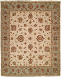 Shalom Brothers Royal Zeigler Rzm-Sl063 Ivory - Light Blue Area Rug