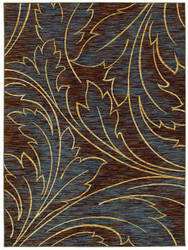 Shaw Mirabella Acanthus Brown 26700 Area Rug