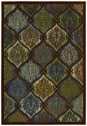Shaw Newport Kate Dark Multi 08770 Area Rug