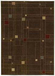 Shaw Origins City Streets Earthen Brown 05700 Area Rug
